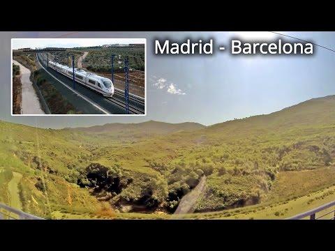 Renfe, AVE 2140 / Barcelona - Madrid, part 1