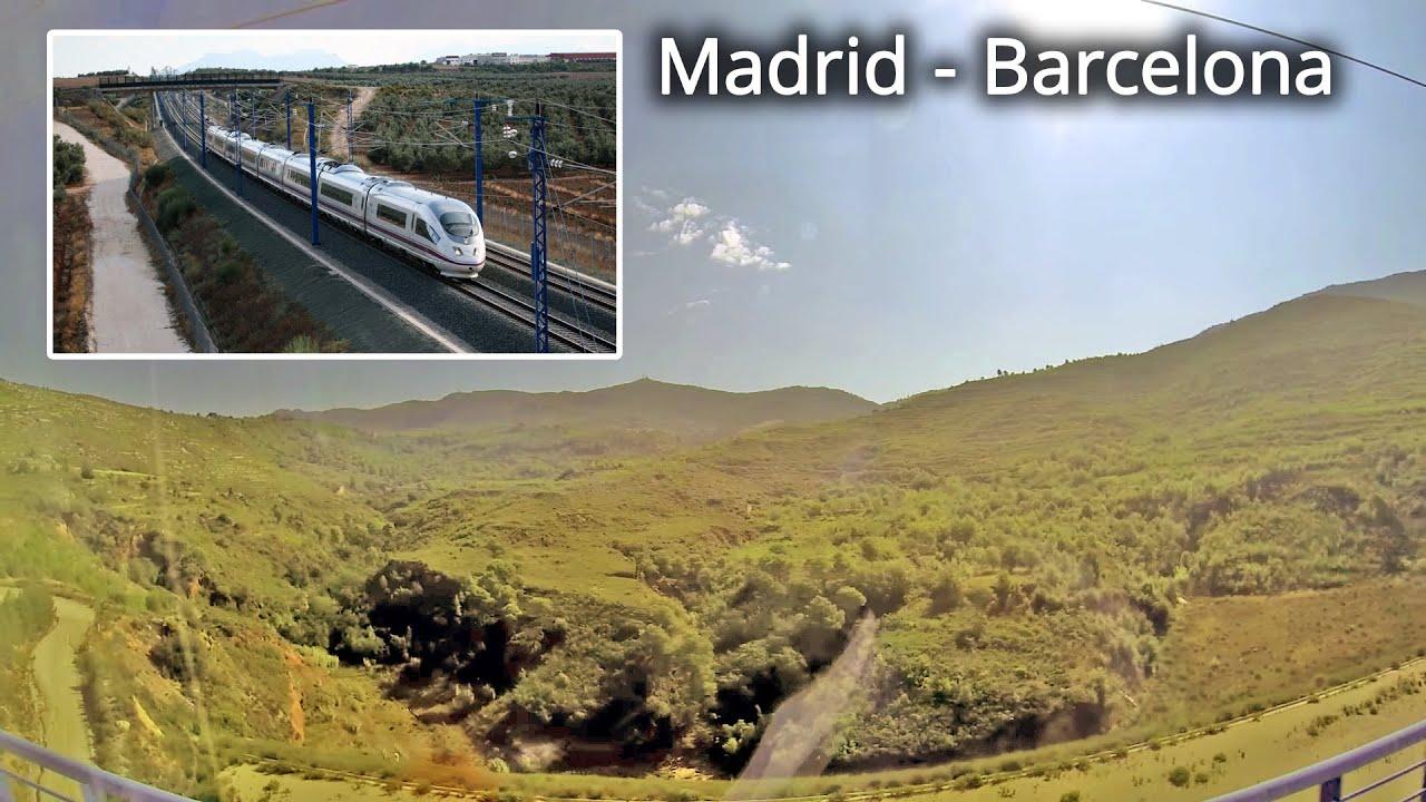 Renfe ave 2140 barcelona madrid part 1 youtube for Ave hotel barcelona madrid