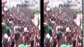 جمهور الرجاء البيضاوي المغربي يغني للجزائر وللخضر ...اخوة ولن تفرقنا الفتنة