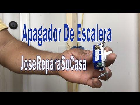 Como Instalar Apagador De Escalera O Apagador De 3 Vias (3 Way) - JoseReparaSuCasa