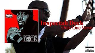 Inspectah Deck - Only One Verse (Full Album) (2021)