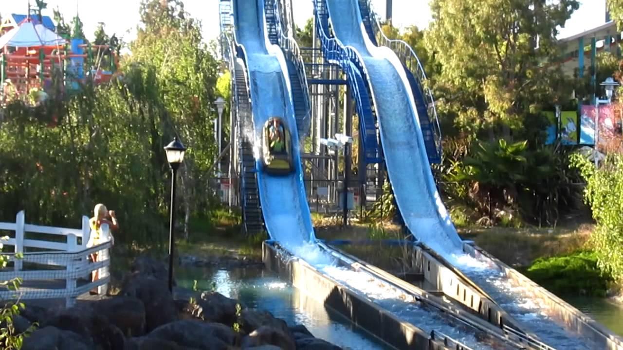 California S Great America Logger S Run Ride Video Youtube