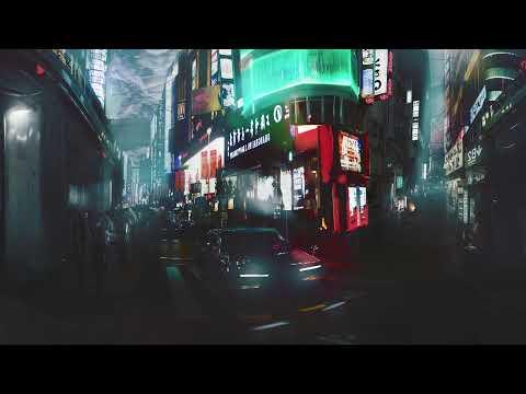 2058 Cyberpunk Environment Concept Art 360°