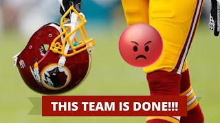 Washington Redskins Drops Team Name & Logo!  I'm Done With Them!!! 😡