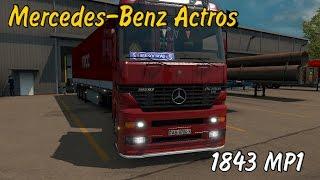 Euro Truck Simulator 2 Mercedes-Benz Actros MP1