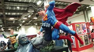Justice League of America (JLA) vs Darkseid Color version