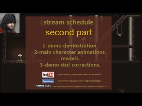 Dev stream 3Judgement project. second part
