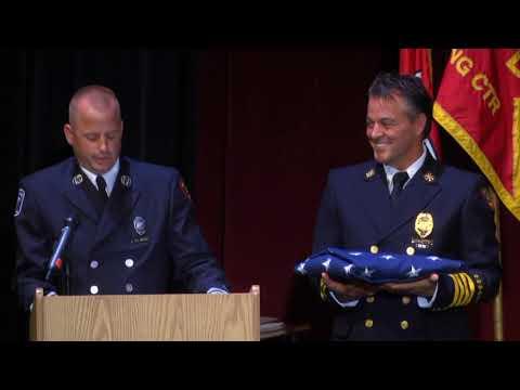 The Dayton Fire Department Class 2017-A Graduation