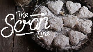 **gluten Free** Greek Christmas Cookies, Kourapiedes - The Scran Line