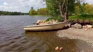 Иматра (Финляндия), озеро Сайма 2017