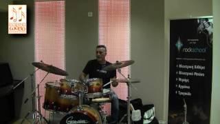 Έντεχνο Ωδείο -Στέφανος Δημητρίου (Σεμινάριο Drums)