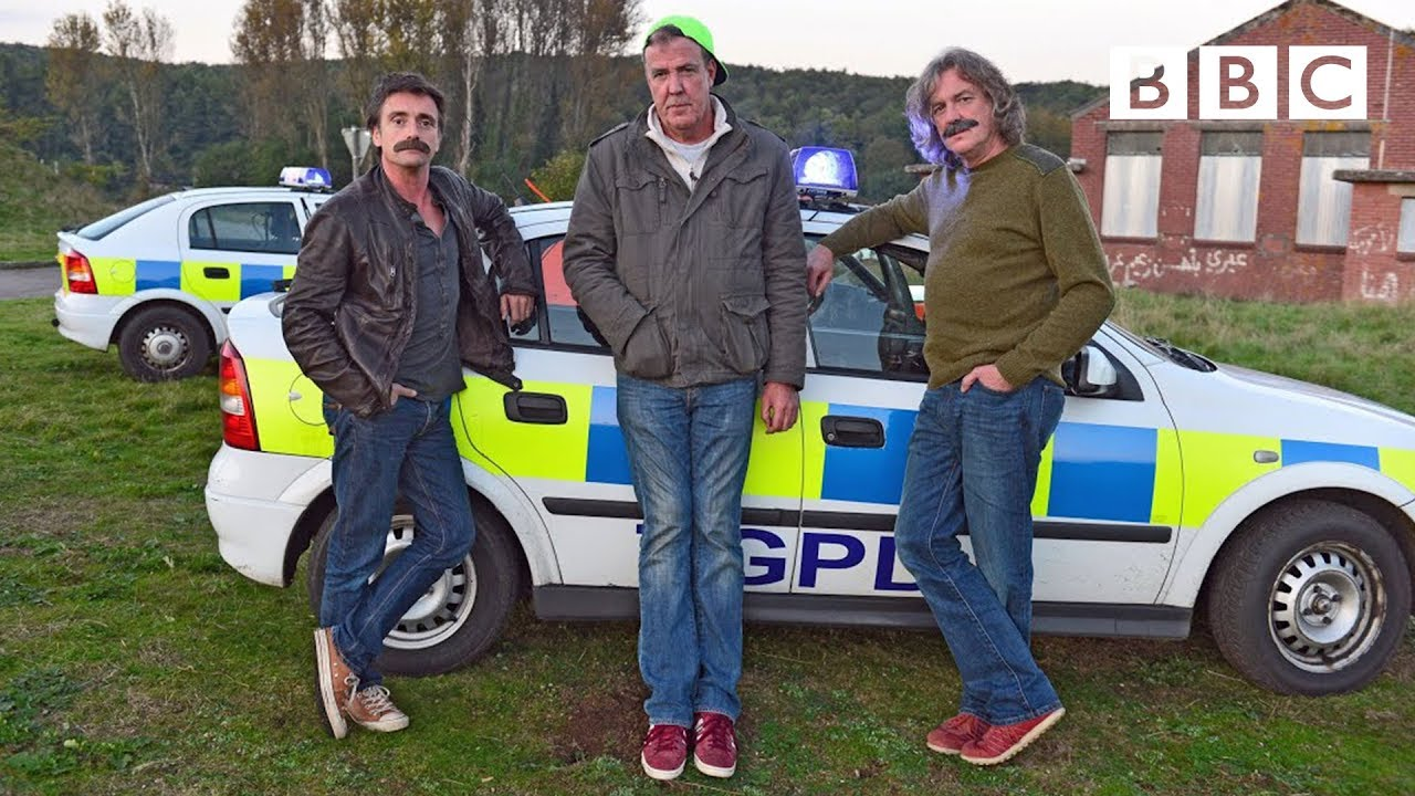 jeremy clarkson takes part in a police chase top gear bbc two youtube. Black Bedroom Furniture Sets. Home Design Ideas