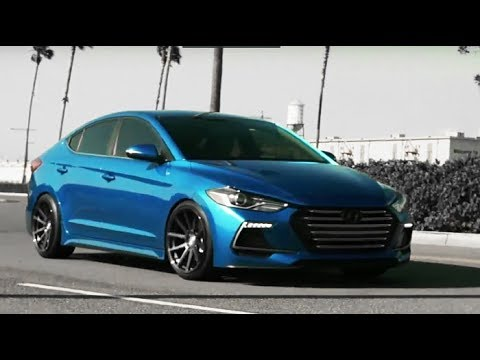 Modified Hyundai Elantra Sport 2017 Showcase YouTube