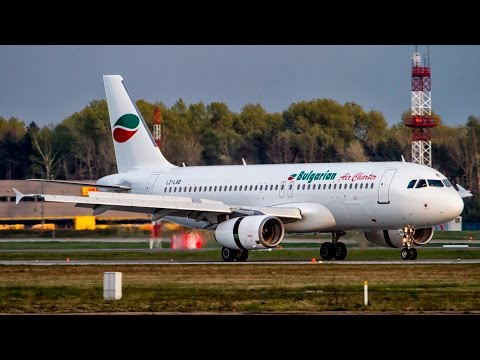 Bulgarian Air Charter Airbus A320-200 LZ-LAB - Katowice Pyrzowice (KTW/EPKT) - 29.04.2017 r.