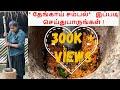 Jaffna coconut sampal   Village cooking   Village food   Jaffna Food   Fried Chili Sambal in Tamil