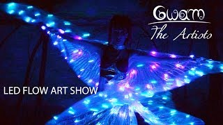 Gwam - Dance in Light Waves : Led Show with Isis Wings (Ailes d'Isis à LEDs)
