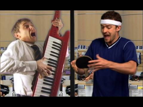 Auto-Tune the Ads: Sony. Justin Timberlake. Peyton Manning.