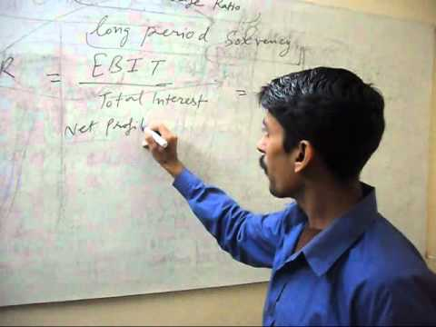 Interest Coverage Ratio (Hindi Lecture)