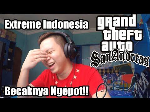 Becak Bisa Ngepot! | Grand Theft Auto Extreme Indonesia