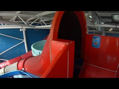 Scary Space Bowl Slide At Splashdown Poole