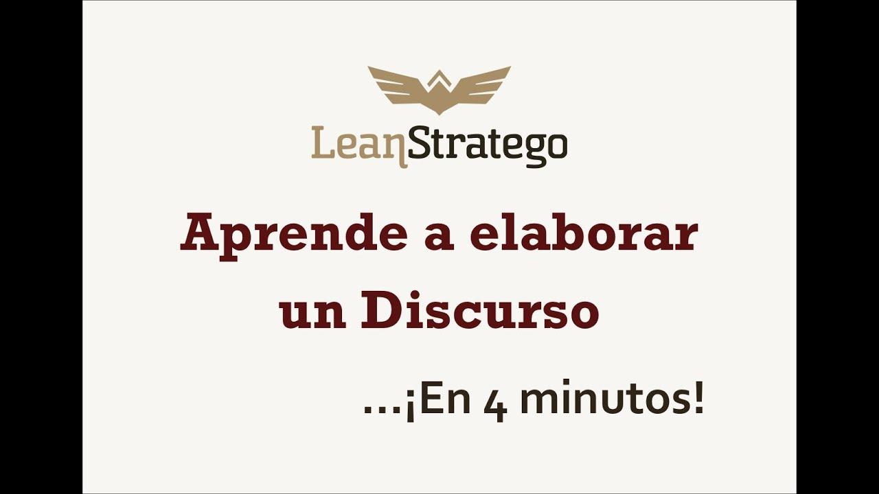 Cómo Elaborar Un Discurso Aprende En 4 Minutos