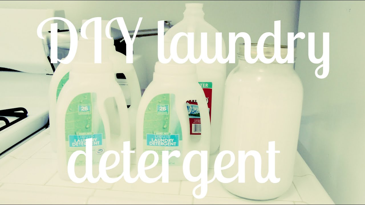 DIY Laundry Detergent (Adapted Duggar