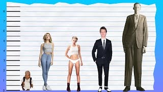 Find out how tall hailey baldwin is! to help visualize her height, we've included a side by comparison with other celebrities, short and tall!