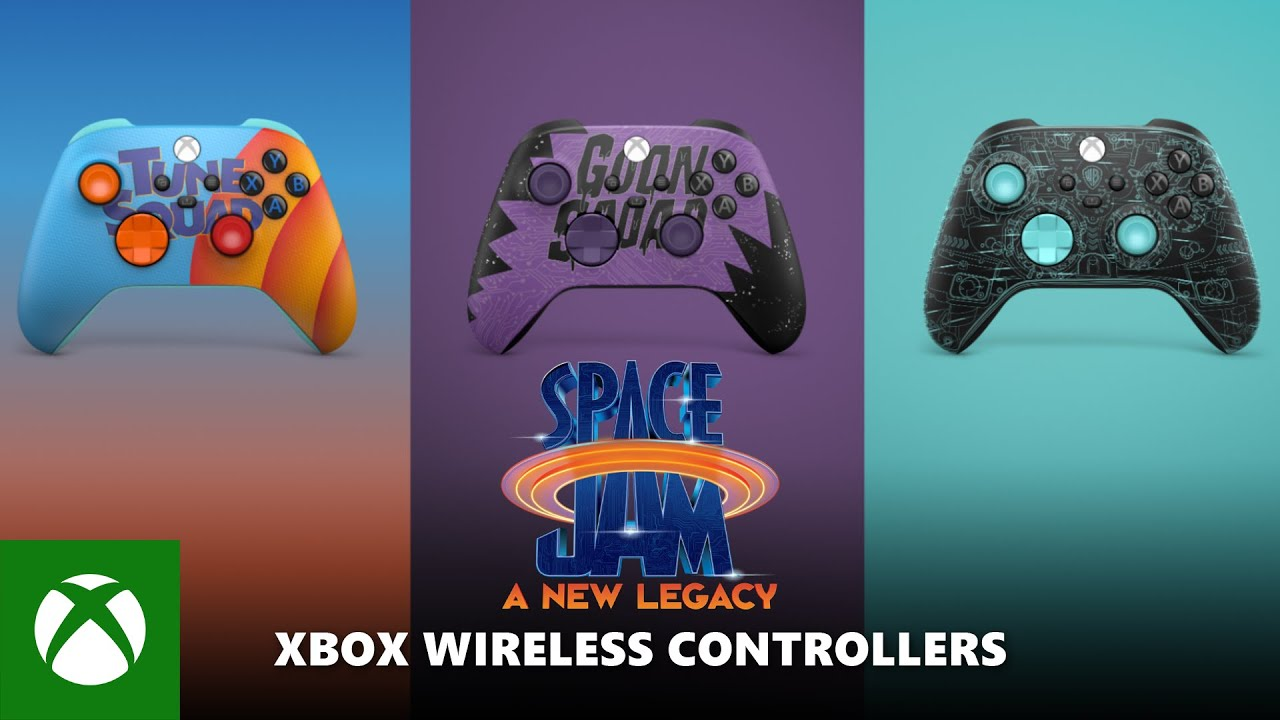 Space Jam: A New Legacy Xbox Controllers - Official Reveal