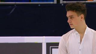 Макар Игнатов Короткая программа Мужчины Гран при по фигурному катанию 2020 21 Rostelecom Cup