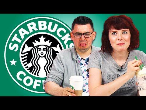 Irish People Taste Test Starbucks