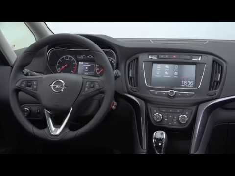 opel zafira int rieur youtube. Black Bedroom Furniture Sets. Home Design Ideas