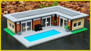 LEGO Modern Luxurious Vacation House MOC