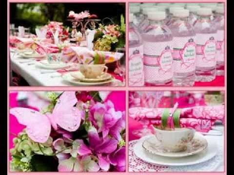 DIY Princess Tea Party Decorating Ideas