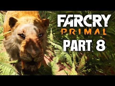 Far Cry Primal Gameplay Walkthrough Part 8 - TAMING A SABER TOOTH TIGER & RIDING (FULL GAME)