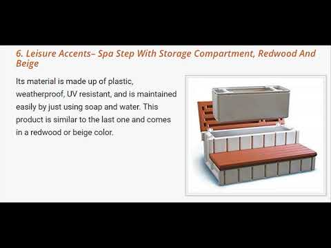 Reviews on 7 Best Hot Tub Steps In the Market