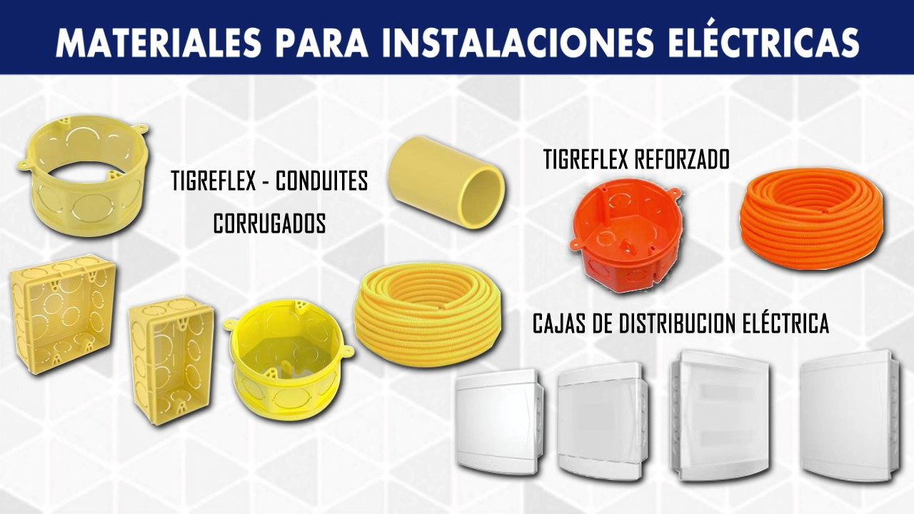 Garra tuber as ca er as y ductos para instalaciones sanitarias y de electricidad youtube - Tuberia para instalacion electrica ...