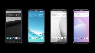 LG V30: GUI Theme Video