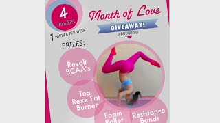 Month Of LOVE Giveaway !!!!!! (CLOSED!)
