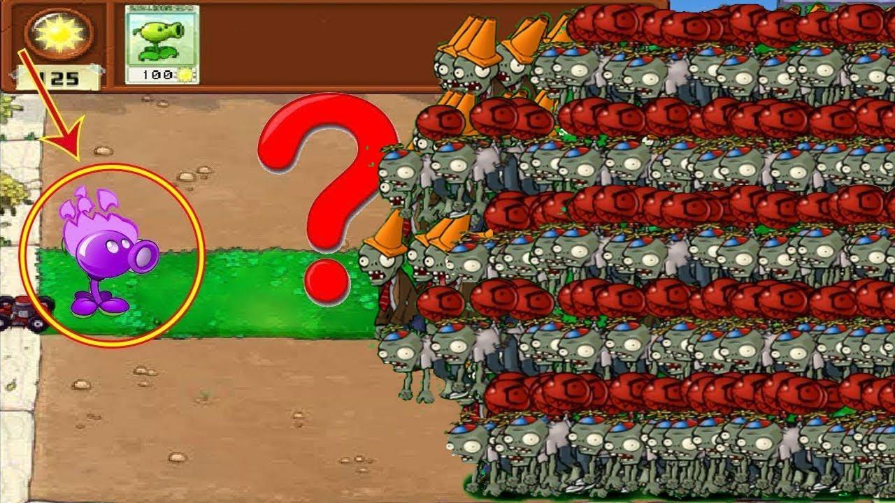 Plants vs Zombies Hak - Cactus vs 9999 Zombies