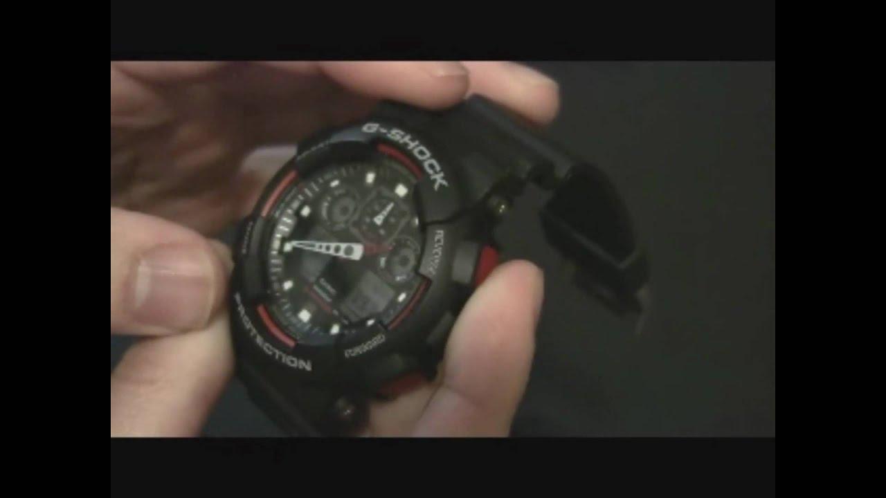 06c5ed0b5 Casio G-Shock X-Large Combi GA100 Watch Review - YouTube