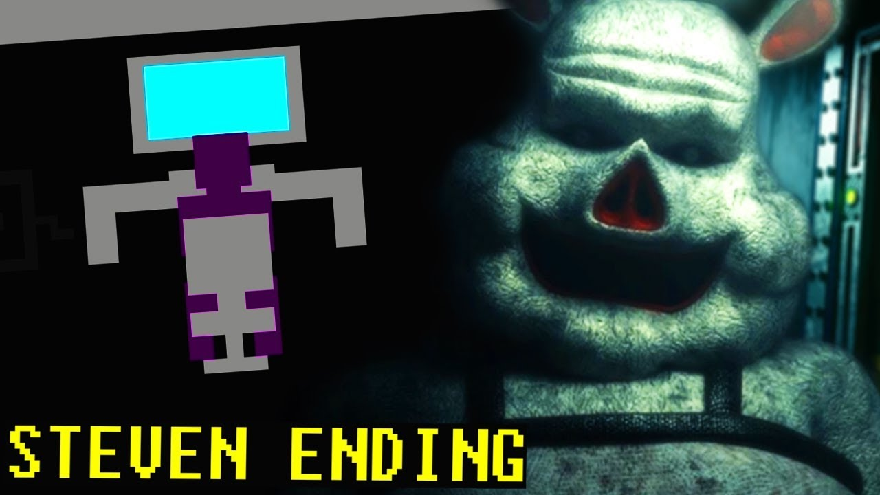 a-secret-room-with-a-clown-animatronic-that-speaks-fnaf-porkchop-s-adventure-steven-ending