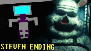 THE PURPLE MAN IS WORKING WITH THE PIG ANIMATRONIC?! || FNAF Porkchop