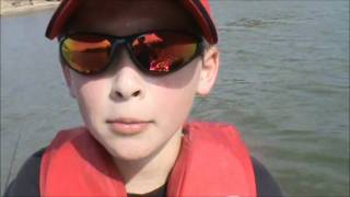Get OUTSIDE! with Henry VI White Bass Fishing Spoonbill Snagging Fort Gibson OK