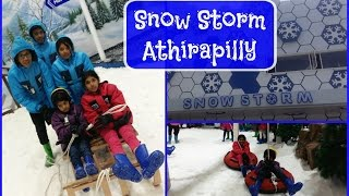 Snow Storm Athirapally Kerala | The first snow park in Kerala | Thrissur | India