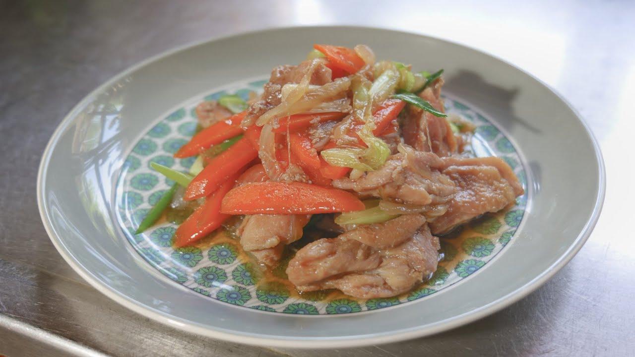 [ASMR cooking] Chicken Galbi, Korean food