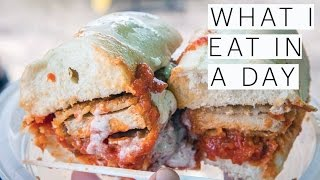 What I Eat in a Day | Vegan Food and Drink Festival | YouTube Fan Fest | Vlog | The Edgy Veg