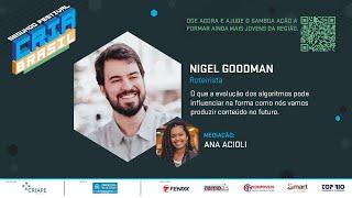 Algorítmicos e o Futuro do Conteúdo -  Segundo Festival Cria Brasil
