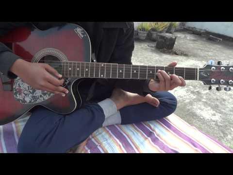 haye mera dil guitar play