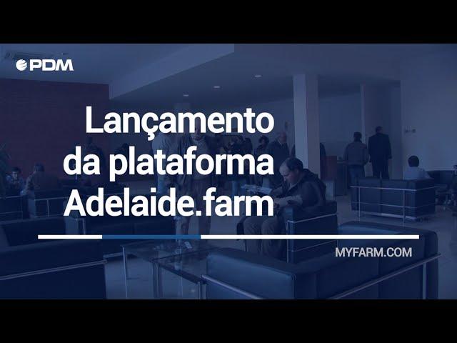 🥕 MyFarm | Lançamento da plataforma Adelaide.farm