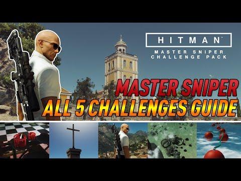 HITMAN - Master Sniper Challenge Pack! (Complete Guide)